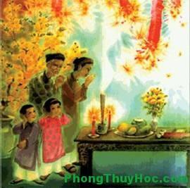 tet2012 Cúng Giao Thừa   Vì sao phải cúng ngoài trời ?