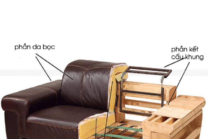 Khung ghế chắc chắn