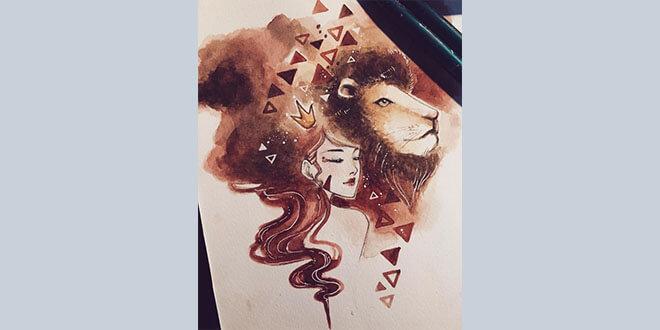 Sư tử chòm sao may mắn thứ 3