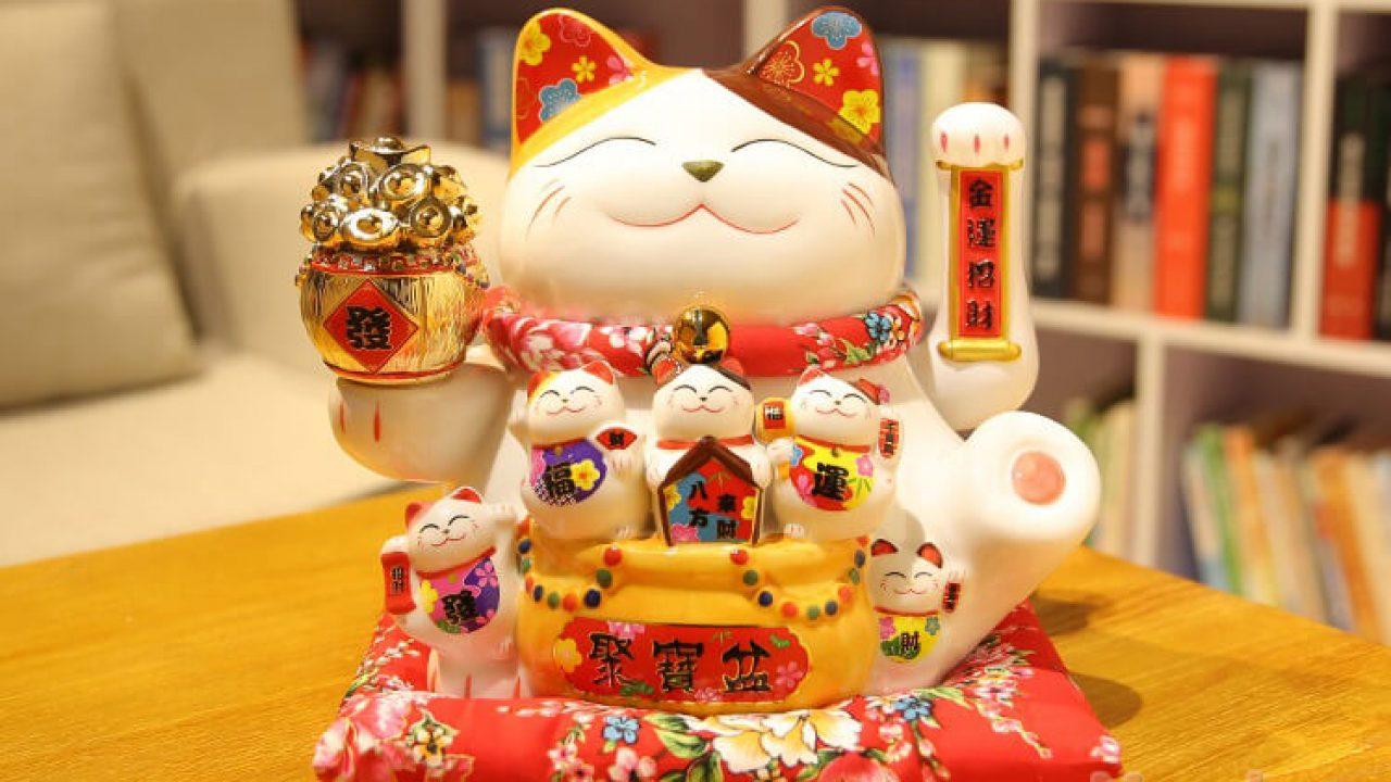 Cách sử dụng mèo thần tài trong phong thủy nhà ở, cửa hàng kinh doanh -  MATBANGCANTHO.COM