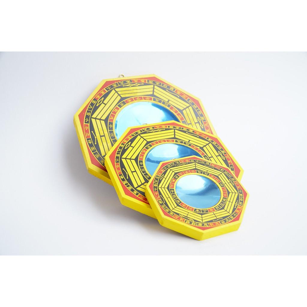 Gương bát quái lõm phong thủy trấn trạch gỗ - Nhiều cỡ - Vật phẩm phong  thủy khác Nhãn hàng No Brand | DienMayHoangNgan.com